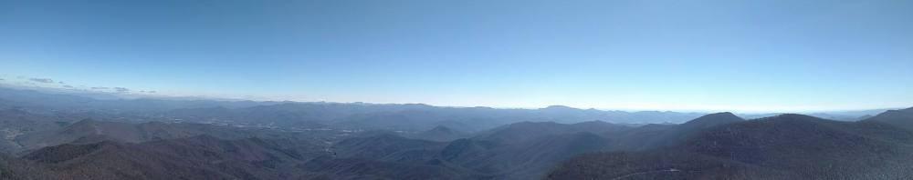 7 Albert Mountain view from firetower 3 19 17 NC
