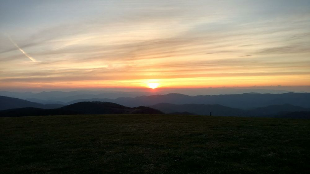 95 morning on max patch