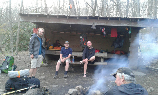 Iron Mountain shelter crew