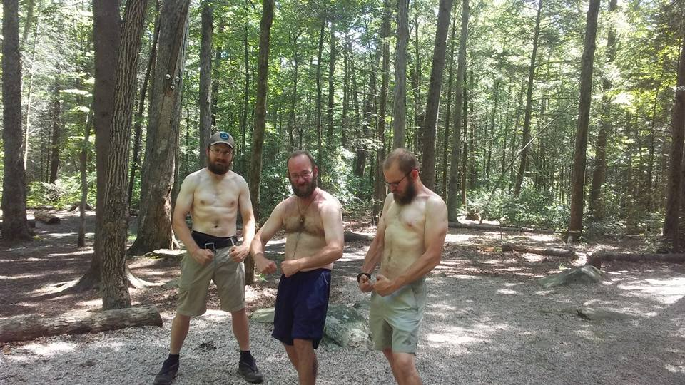 276 whitest man on trail contest, preparing for hike naked day